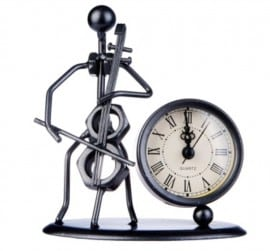 Cello Sculpture with Clock