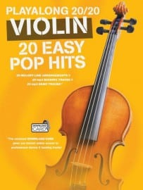 Easy Pop Hits playalong violin