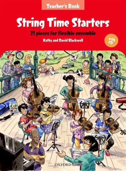 String Time Starters Teacher's book and CD
