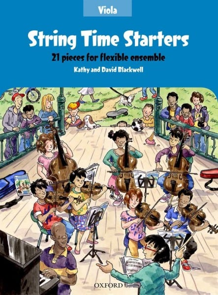 String Time Starters Viola book