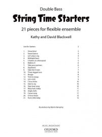 String Time Starters Double Bass book