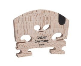 Teller violin bridge with U-inlay