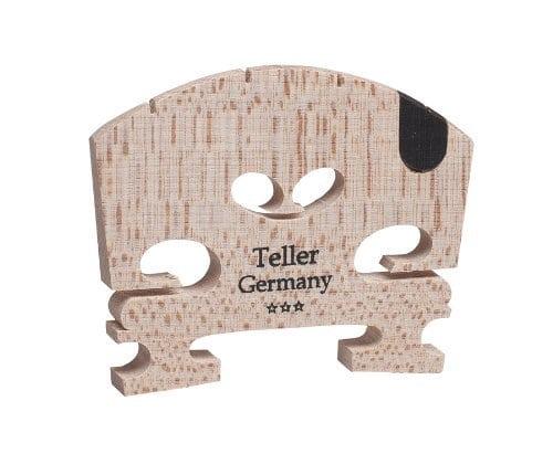 Teller violin bridge with U-inlay
