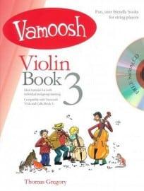 Vamoosh Violin Book 3 Book & CD