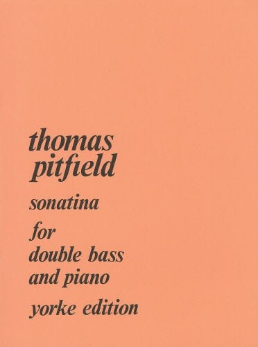 Pitfield Sonatina for double bass