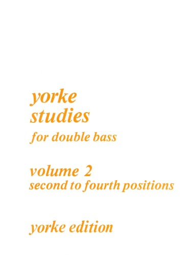 Yorke studies for double bass vol 2