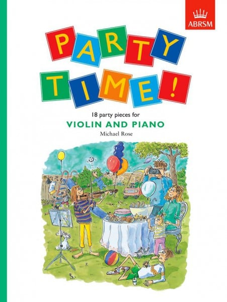 Party Time! 18 party pieces for violin