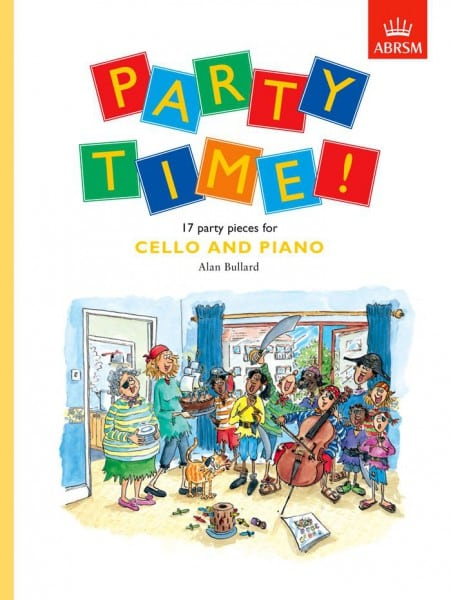 Party Time! 17 party pieces for cello