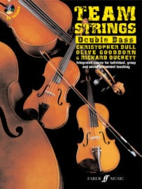 Team Strings Double Bass with CD