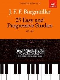 Burgmüller 25 Easy and Progressive Studies