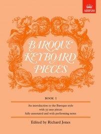 Baroque Keyboard pieces book 1