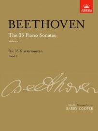 Beethoven 35 Piano Sonatas Volume 1