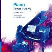 ABRSM Piano exam pieces Grade 7 2017-2018 with CD
