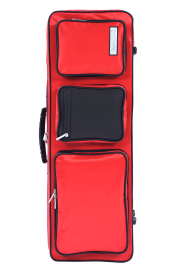 BAM Performance Violin case Cranberry Red