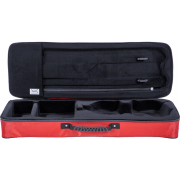 BAM Performance violin case Cranberry Red open