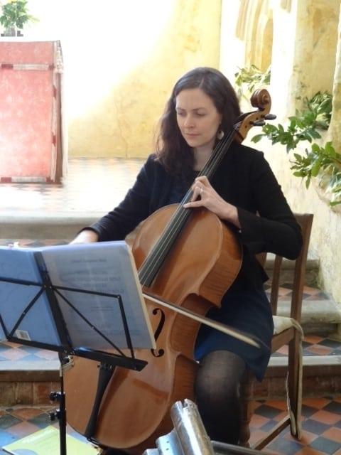 Melly-cello-Aubrey-christening