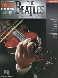 The Beatles playalong for violin features eight of the favourite Beatles hits