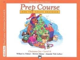 Alfred's Basic Piano Prep course Christmas Joy Book A