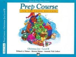 Alfred's Basic Piano Prep course Christmas Joy Book B