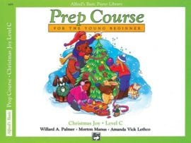 Alfred's Basic Piano Prep course Christmas Joy Book C