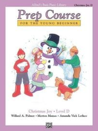 Alfred's Basic Piano Prep course Christmas Joy Book D