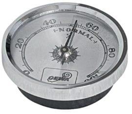 Hygrometer silver