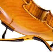 Pirastro Korfker Violin Shoulder rest with violin