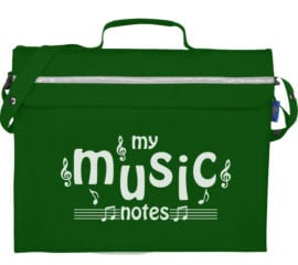 Mapac Primo 'My Music Notes' music bag with gusset