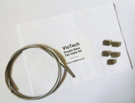 Viotech Double Bass tailpiece cable kit