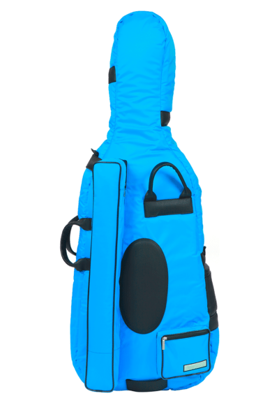 BAM Sky Blue Performance Cello Bag