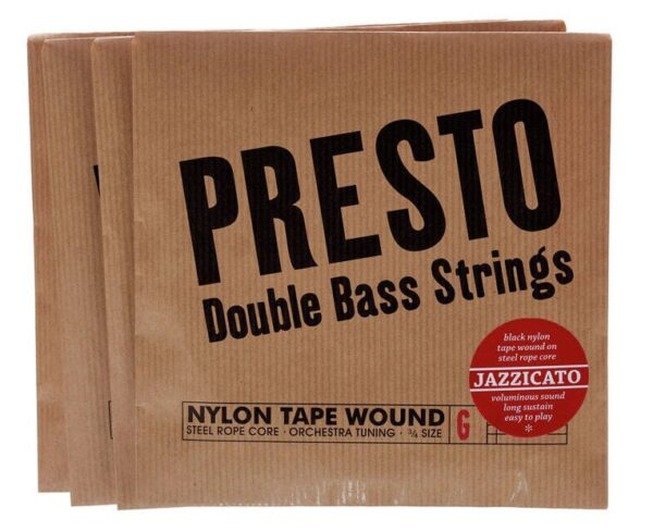 Presto Jazzicato Double Bass Strings