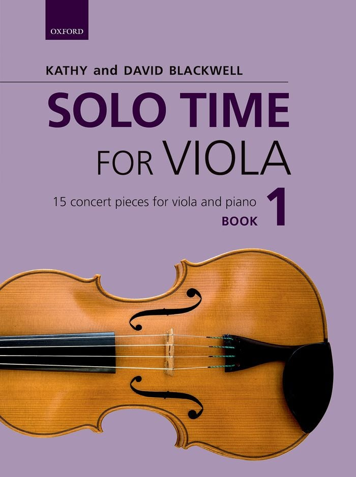 Solo Time for Viola book 1 – Kathy Blackwell