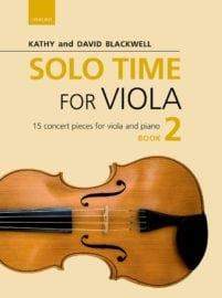 Solo Time for Viola book 2