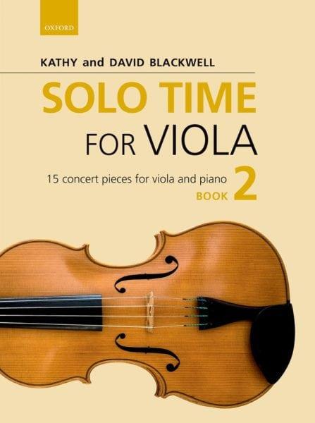 Solo Time for Viola book 2
