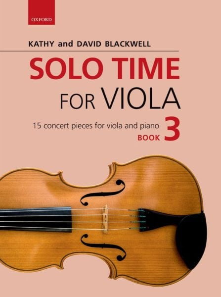 Solo Time for Viola book 3
