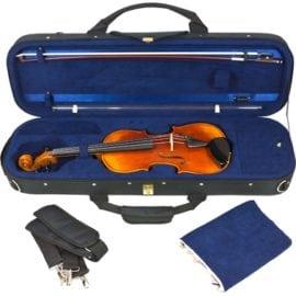 Tom & Will Violin case black open