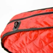 BAM Hoody for Hightech Contoured Violin case red detail