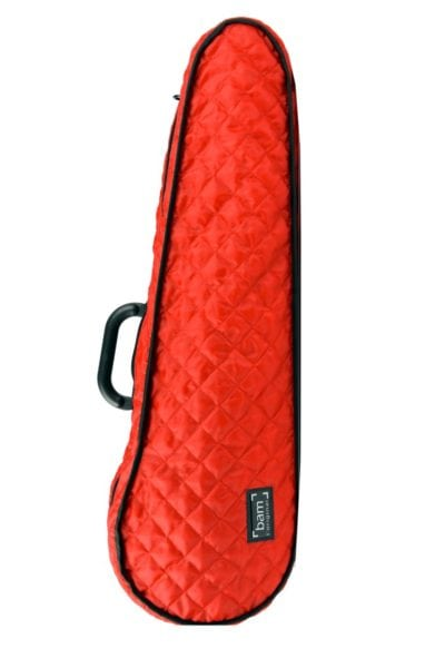 BAM Hoody for Hightech Contoured Violin case red front