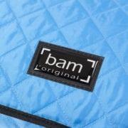 BAM Hoody for hightech oblong violin case blue detail