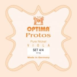 Lenzner (Optima) Protos Viola string set