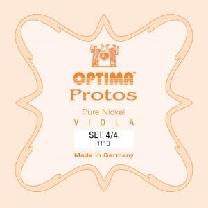 Lenzner (Optima) Protos Viola string set