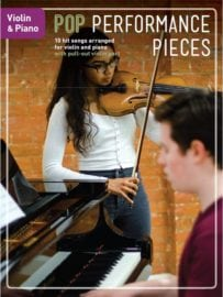Pop Performance Pieces for Violin And Piano