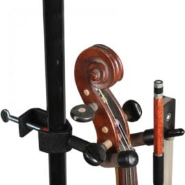 String Swing Mic stand Violin hanger