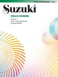 Suzuki Cello School Volume 1 piano acc