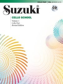 Suzuki Cello School Volume 1 with cd