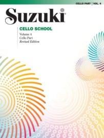 Suzuki Cello School Volume 4