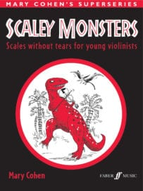 Scaley Monsters for Violin - Mary Cohen