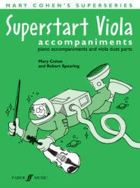 Superstart Viola Piano Accompaniments - Mary Cohen