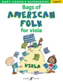 Bags of American Folk for Viola - Mary Cohen