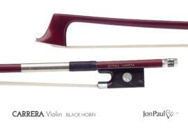 JonPaul Carrera Violin bow with Horn frog